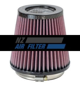 "K&N Carbon Fibre Air Filter - 4"" inlet x 5"" long , 102mm (RP-4930)"