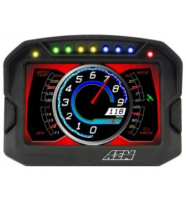 AEM CD-5 Carbon Digital Racing Dash Displays, Non-Logging/Non-GPS, (30-5600)