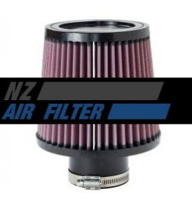 "K&N Universal Air Filter - 2.5"" inlet x 5.5"" long , 64mm (RU-4950)"