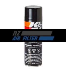 K&N Air Filter Oil, SPRAY, (99-0504)